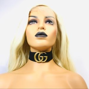 💄 Upcycled choker W AUTHENTIC restored GUCCI